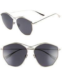 Dior - 59mm Metal Sunglasses - Light Gold - Lyst