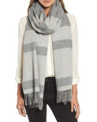 Mackage - Lazio Stripe Wool Scarf - Lyst