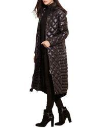 Lauren by Ralph Lauren - Packable Quilted Down Coat - Lyst