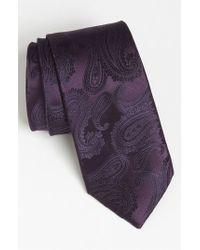 English Laundry - Woven Silk Tie - Lyst