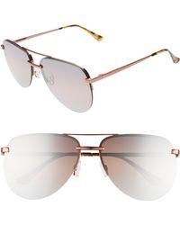 7c66170094f0 Marc By Marc Jacobs Aviator Sunglasses - Gold Havana/brown Gradient in  Metallic - Lyst