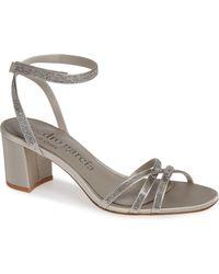 Pedro Garcia - Xafira Crystal Embellished Sandal - Lyst