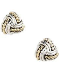 Lagos - Torsade Stud Earrings - Lyst