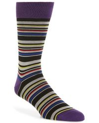 Bugatchi | Stripe Socks | Lyst
