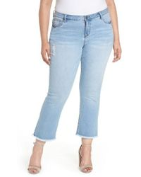 Kut From The Kloth - Stella Kick Flare Jeans - Lyst