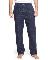 Polo Ralph Lauren - Cotton Pajama Pants - Lyst