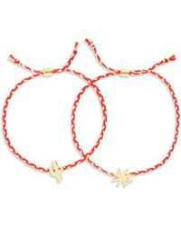 Madewell - Set Of 2 Friendship Bracelets - Lyst