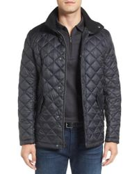 Cole Haan | Diamond Quilted Jacket | Lyst