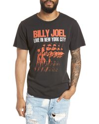 Barking Irons - Billy Joel Live In Nyc Crewneck T-shirt - Lyst