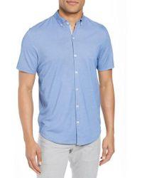 Zachary Prell - Caruth Pique Sport Shirt - Lyst
