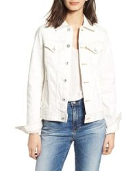AG Jeans - Mya Denim Jacket - Lyst