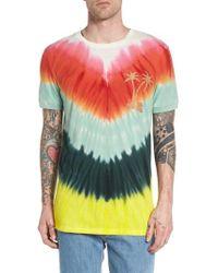 Antony Morato - Tye Dye Graphic T-shirt - Lyst