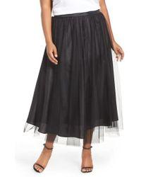 Alex Evenings - Tulle Tea Length Skirt - Lyst