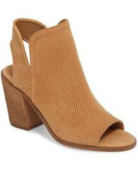 Steve Madden - Maxine Perforated Bootie - Lyst