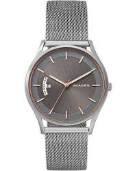 Skagen - Holst Mesh Strap Watch - Lyst