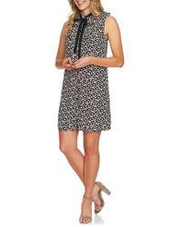 Cece - Mayfair Ditzy Meadow Sleeveless Shift Dress - Lyst