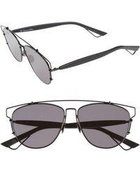 104f80e1ddf Lyst - Dior Technologic Gradient Sunglasses Black in Metallic
