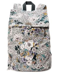 O'neill Sportswear - Starboard Floral Print Canvas Backpack - Lyst