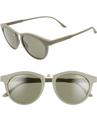 9b49e15888f8f Smith - Questa 50mm Chromapop(tm) Polarized Round Sunglasses - Lyst