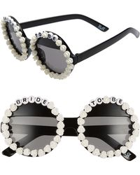 Rad & Refined - Bride To Be Round Sunglasses - - Lyst