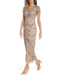 Pisarro Nights - Beaded Longline Gown - Lyst