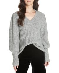 Rebecca Taylor - Lofty Alpaca Wool Blend Sweater - Lyst