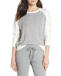 Make + Model - Cozy Crew Raglan Sweatshirt - Lyst