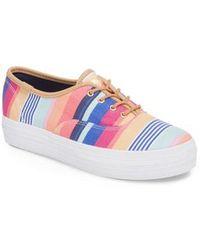 Keds - Keds X Sunnylife Triple Catalina Stripe Kickstart Sneaker - Lyst