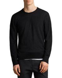 AllSaints - Blake Crew Sweater - Lyst