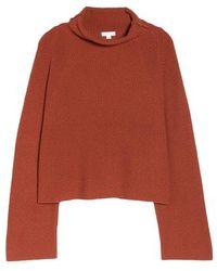 Leith - Transfer Stitch Turtleneck Sweater - Lyst