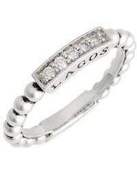 Lagos - Caviar Icon Spark Diamond Stacking Ring - Lyst