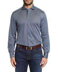 Corneliani - Classic Fit Solid Sport Shirt - Lyst