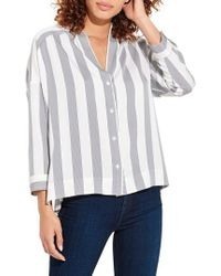 Ayr - The Dropout Stripe Top - Lyst