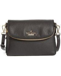 Kate Spade - Jackson Street Small Harlyn Leather Crossbody Bag - - Lyst