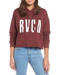 RVCA - Freshman Hoodie - Lyst