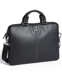 Boconi - 'tyler' Leather Laptop Briefcase - Lyst