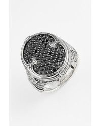 Konstantino | 'plato' Pave Etched Ring | Lyst