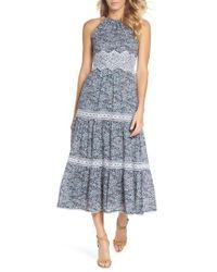Adelyn Rae - Breana Halter Maxi Dress - Lyst