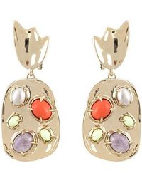 Alexis Bittar - Sculptural Cluster Clip Earrings - Lyst