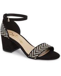 Callisto | Mercer Ankle Strap Sandal | Lyst