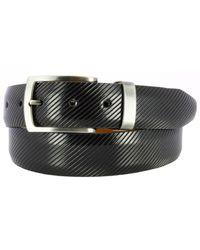Remo Tulliani - Sylvio Millerighe Leather Belt - Lyst