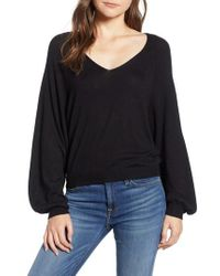 7 For All Mankind - 7 For All Mankind V-neck Sweater - Lyst