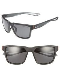 9b04773327a Nike - Fleet 55mm Sport Sunglasses - Lyst