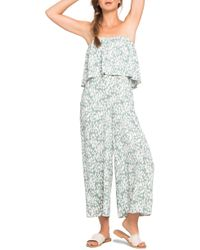 L*Space - Strapless Cover-up Jumpsuit - Lyst