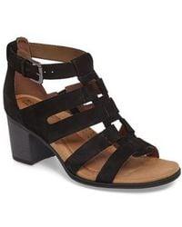 Cobb Hill | Hattie Block Heel Gladiator Sandal | Lyst