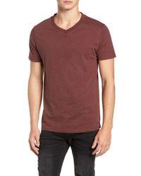 Vestige - Soccer V-neck T-shirt - Lyst