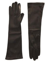Max Mara | Long Leather Gloves | Lyst