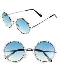 Circus by Sam Edelman - 50mm Round Sunglasses - - Lyst