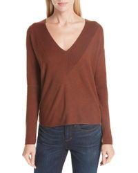 Eileen Fisher - Boxy Lyocell & Silk Sweater - Lyst