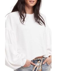 Free People - Sleeves Like These Sweater - Lyst